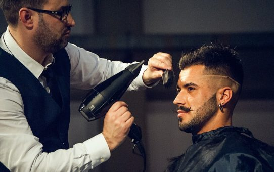 salon fryzjerski dla mezczyzn